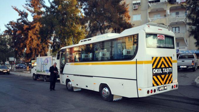 Schulbusgebühren in Izmir wurden angekündigt