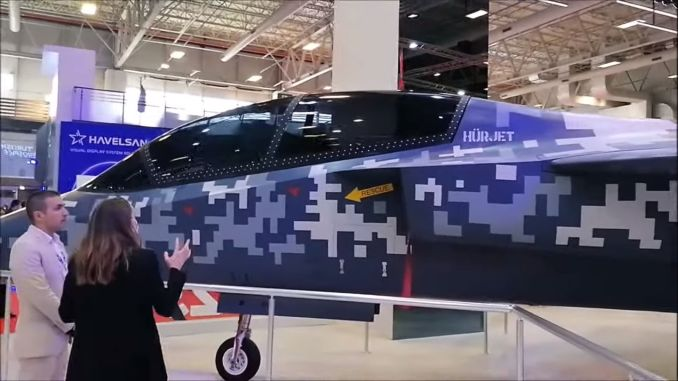 predstavljena je i mlazna obuka i laki jurišni avion hurjet idef