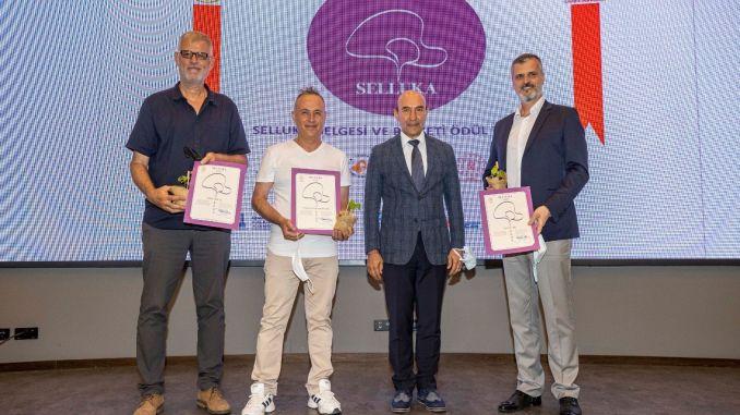 Selluka certificate for Kemeraltı enterprises