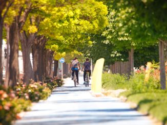 يتم شرح تطبيقات الدراجات في مدينة قونية للعالم