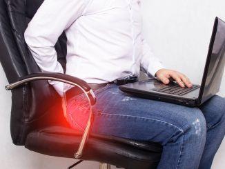 臀裂可引起持续数小时的疼痛