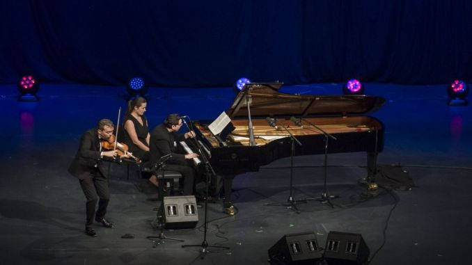 Fazil Say with the support of Mercedes Petrol Voice of nature concert at Istanbul Music Festival