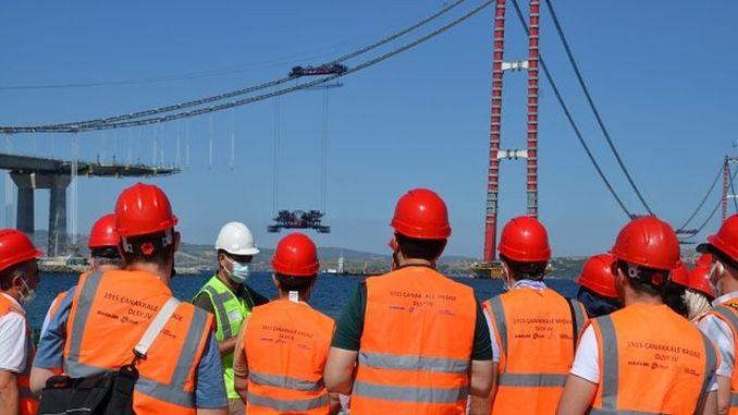 technical trip from mmg bursa branch to canakkale bridge
