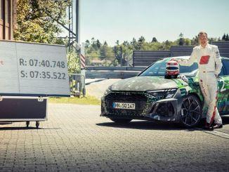 audi sú najrýchlejšie v kompaktnej triede na Nurschleife Nurburgring