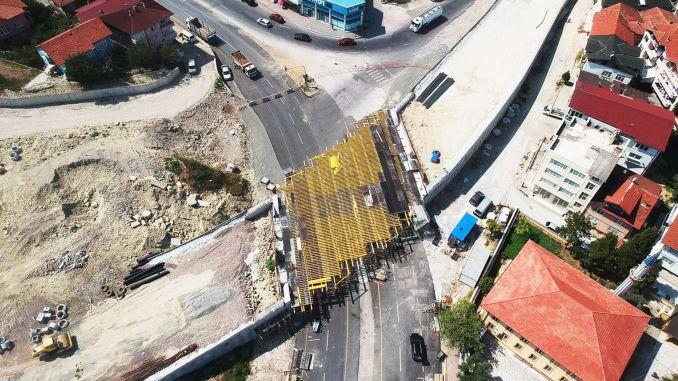انتهى مشروع تقاطع جسر ساكاريا