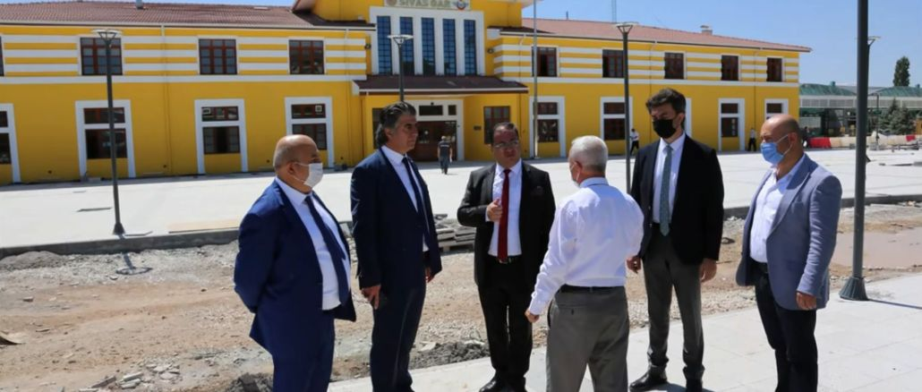 stso president eken made investigations at sivas yht station