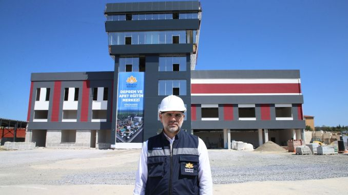 The earthquake and disaster education center in sultanbeyli has come to an end.
