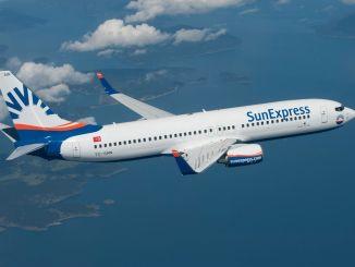 sunexpress 伊兹密尔圣彼得堡航班重新开始
