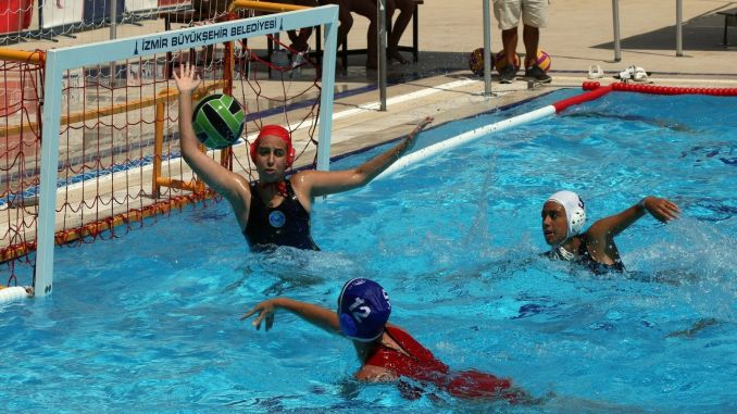 water polo big women turkey cup has started
