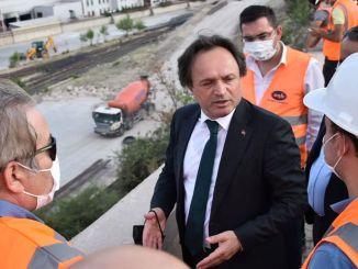 generalni direktor tcdd -a posjetio je odgovarajuću željezničku lokaciju osb kotla