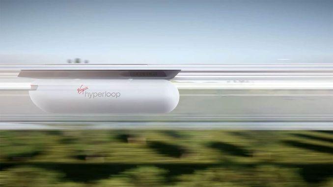 Virgin Hyperloop stellte sein neues Kapselkonzept mit einem Video vor