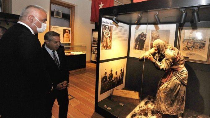 افتتح معرض البطلات في الحرب العالمية وحرب التحرير