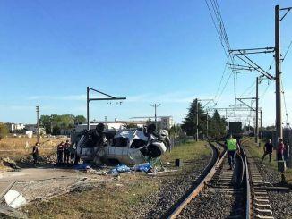 Procentul de accidente feroviare au avut loc la trecerile la nivel în