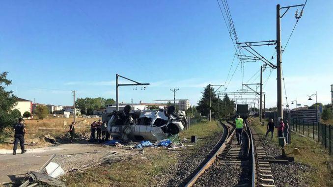 Postotak željezničkih nesreća dogodio se na pružnim prijelazima u