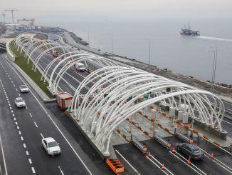 مرت ملايين المركبات عبر نفق أوراسيا بضمان مليون مرور.