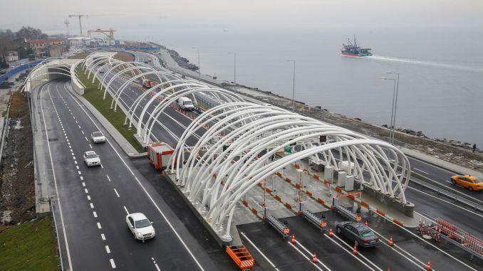milyon gecis garantisi verilen avrasya tunelinden milyon arac gecmis