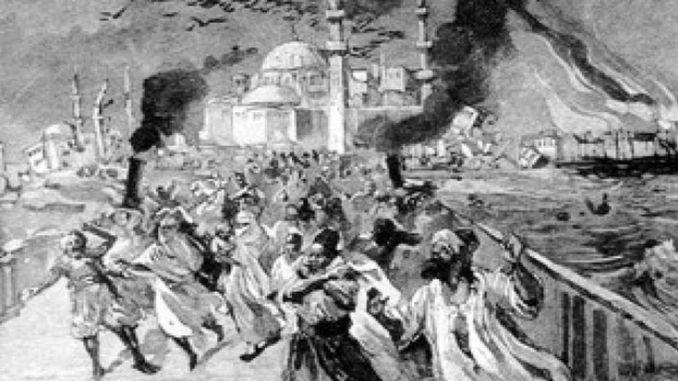 Veliki potres zvan Mali sudnji dan dogodio se u Istanbulu