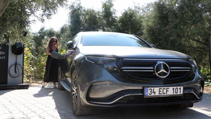 Mercedes EQ Experience im Sommer in Izmir erlebt
