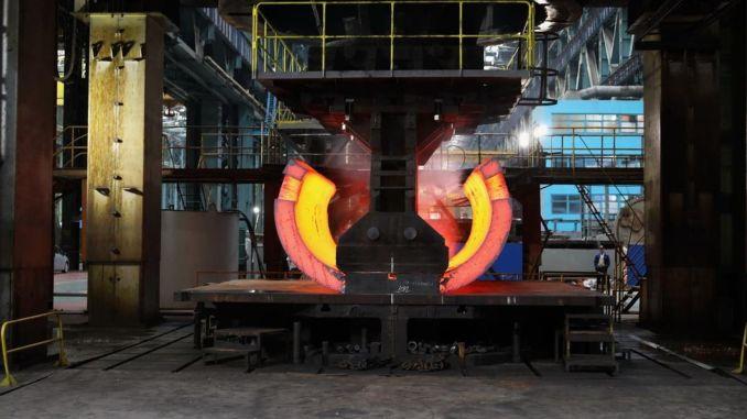 raw part of akkuyu ngs reactor base made in atommash