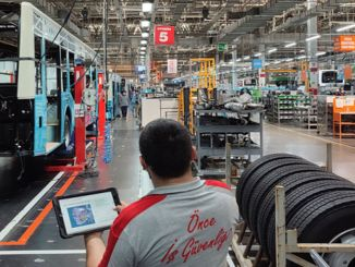Anadolu Isuzu carries its power and quality in production to the future with its smart factory application