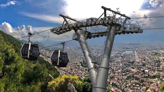 tuyến cáp treo lên núi antakya habib i neccar sẽ được xây dựng