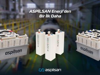 Aspilsan ist eine Haushaltslösung von Energie zu Bahnsystembatterien.