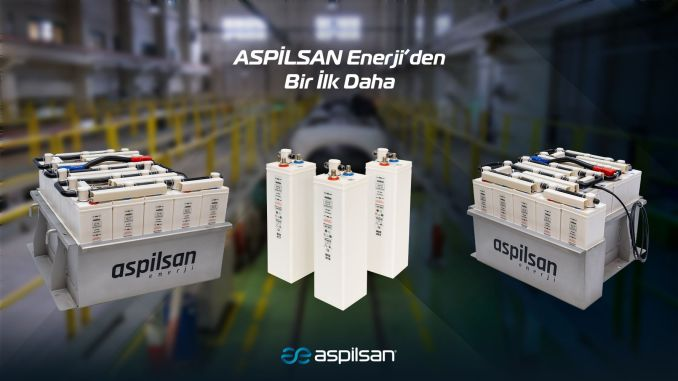 Aspilsan is a domestic solution from energy to rail system batteries.