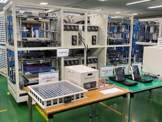 Die Produktionsanlage für Lithium-Ionen-Batterien von aspilsan energy nähert sich dem Ende