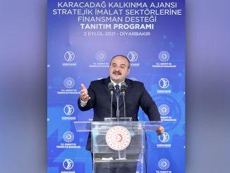 Licitația pentru proiectul Centrului Logistic al Ministrului Varank Diyarbakir va avea loc în octombrie.