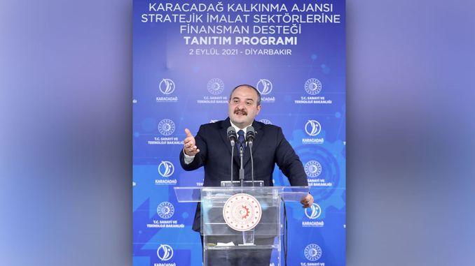 ومن المأمول أن تعقد مناقصة مشروع مركز الوزير فارانك اللوجيستي في ديار بكر في تشرين الأول (أكتوبر) المقبل