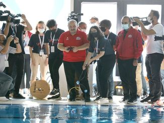 Minister Varank visited the Unmanned Underwater Systems Competition