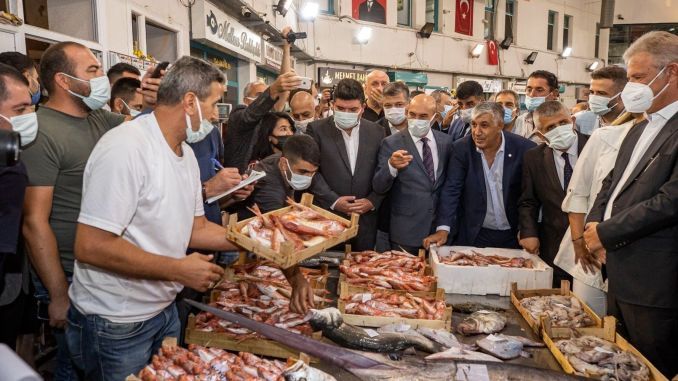 """President Soyer met with the fishermen by saying """"Bismillah"""" for the new hunting season."""