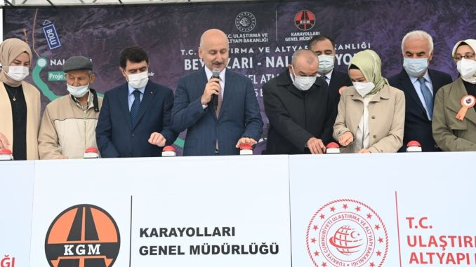 foundation of beypazari nallihan bolunmus road was laid