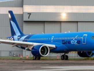微风航空公司订购了额外的飞机