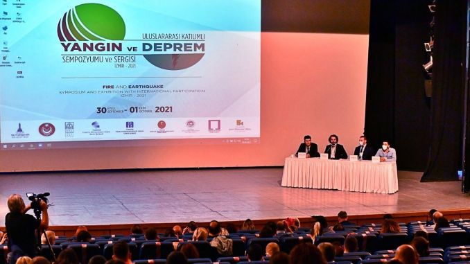 earthquake and fire experts met in izmir