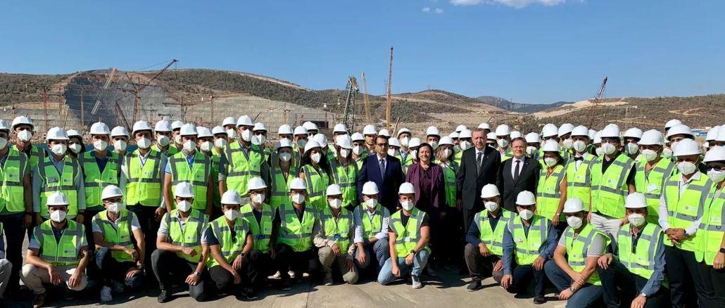 erdogan paid a study visit to akkuyu ngs field
