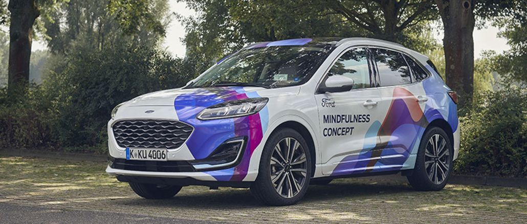 ford introduced the awareness oriented concept car that takes you away from the stress of daily life