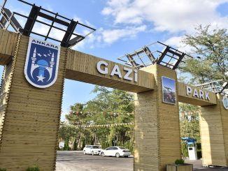 gazi公園以其鬱鬱蔥蔥的綠色自然和活動區等待著首都的市民