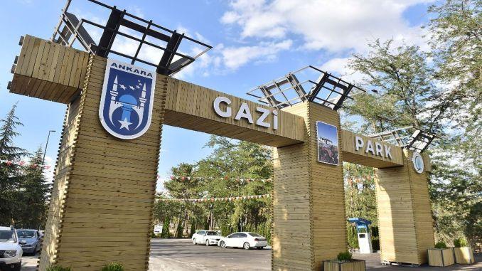 تنتظر Gazi Park مواطني العاصمة بطبيعتها الخضراء ومناطق النشاط.