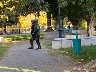 ガジアンテプの警察の注意のおかげで、爆撃行為は阻止されました。