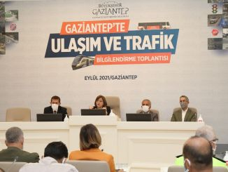 transportation and traffic information meeting was held in gaziantep