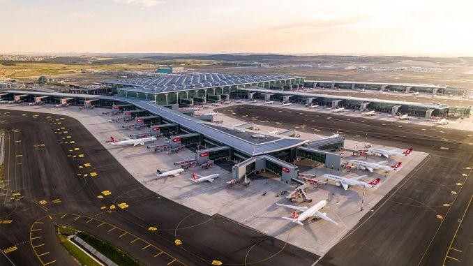 der flughafen istanbul wurde zum effizientesten flughafen in europa gewählt