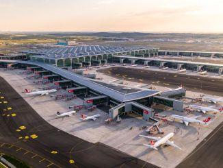 Nagrada letališča istanbul letališče leta