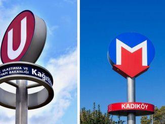 Логотип с буквой u в стамбульском метро вызвал споры
