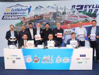 zukünftiger Kayseri-Halbmarathon wurde in Istanbul eingeführt