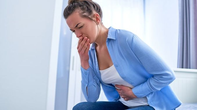 Important causes of bloody vomiting