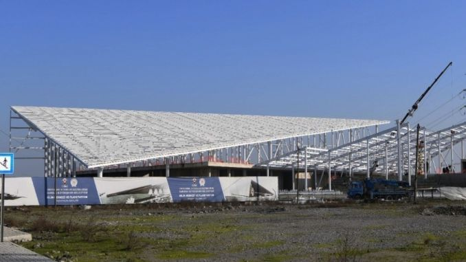The construction of the first science center and planetarium of the Black Sea continues at full speed