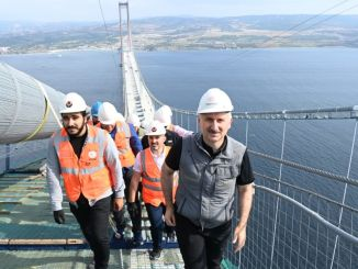 karaismailoglu je iz Anatolije v Evropo hodil po mačji poti po mostu canakkale