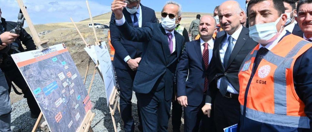 Karaismailoğlu: 'We Increased the Highway Investments 24 Times in Ağrı'