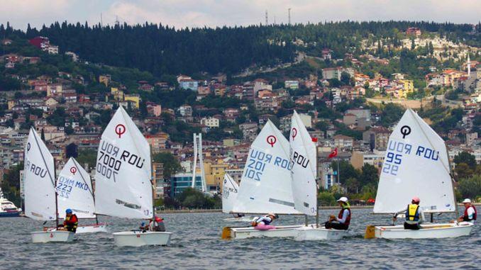 Kocaeli optimist trophy sailing races begin